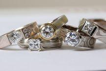 Mokume Gane / Images of Mokume Gane jewellery