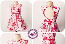 Niñas  vestidos  girl dress / by Artemisa Rojas