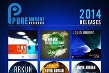 GRAPHICS / Pure Moment Records Flyers