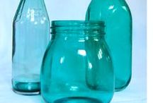 Vidros e embalagens / diy crafts with jars, bottles