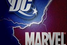 Marvel (and sometimes DC)