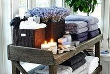 Bath - Home SPA / Thus little is needed to create a home spa in your home.