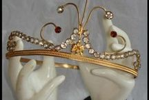 Tiaras in my closet / Lots and lots of tiaras!