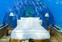 Hotels to Dream About / Wouldn't you want to sleep here?