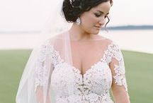 curvy brides / Style inspo for the curvy bride.
