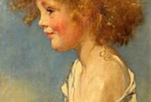 Aspects of Childhood / Children's lives. Paintings, portraits, photographs. Old or new. Whimsical or serious.