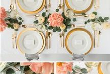 thanksgiving / Thanksgiving tablescapes