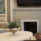 Decorative Fireplaces / Decorative Fireplaces featuring our tiles.