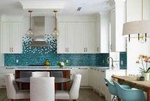 Backsplash Ideas / Some Backsplash ideas featuring our tiles!