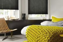 Bedroom Blinds / Relax and rejuvenate: attractive window treatments and little details make your bedroom an inviting place to spend time in. http://www.luxaflex.co.uk/