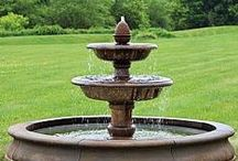 Garden Fountains / A garden fountain adds a very relaxing feel to any space in which they are installed. There are many outdoor fountain designs available to ensure that a suitable style is always available.