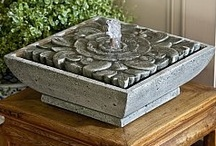 Table & Desk Fountains / Table top and desk fountains offer an easy way to dress up any space. These fountains allow one to easily provide decoration for any room and, best of all, table top fountains can easily be moved when the situation requires as much.