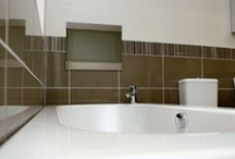 Waterproof Bathroom TV / Add a splash of luxury with a Waterproof TV to your bathroom available in Black, White, Silver, Mirrored Finished Screens.