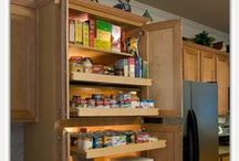 Pantry Organization / Let ShelfGenie of Orlando create a custom pull out pantry system for you, with easy access and visibility to all of your stored items. 888-663-3818 / by ShelfGenie Orlando
