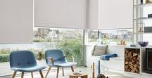 Roller Blinds / Express your style with an individual touch. Designer Roller Blinds are synonymous with Luxaflex®. With a choice of over 650 fabrics to choose from the collection never fails to inspire.  There are exquisite, functional fabrics, with woven structures, textures and designs available in many different colours.   http://www.luxaflex.co.uk/products/roller-blinds/