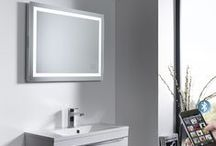Bluetooth Bathroom Radio / Audio Systems including Bluetooth Bathroom Mirrors and Ceiling Speaker Amplifiers with Bluetooth built-in.