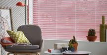 In the Pink Interior Style / Pink is an on trend colour at the moment so why not treat yourself to some new window blinds and colour up your home. Pink is not just one colour it has a variety of hues and fit into every room of the house. At Luxaflex® we have a variety of blinds in this gorgeous colour. Mix with plenty of texture and different hues to make this feminine colour anything but a cliche. www.luxaflex.co.uk