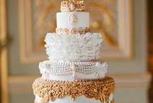 Wedding Cakes + Sweets / Beautiful wedding cakes and sweets
