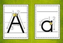 Lectoescritura / Precioso tablón sobre lectoescritura