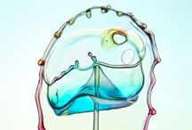 Liquid art, des merveilles d'eau / by E M 888