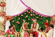 Indian Weddings / When you think of Indian Weddings you think of colourful, opulent, over the top decor and you're 100% correct! Here are a few of my favourites when it comes to Indian Weddings!