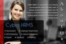 CYBRO HRMS / CYBROSYS has launched their new HR software CYBRO HRMS, a versatile and collaborative HR management system that energizes people through effective communication tools. This HR software is WEB-based and is available at  http://hrms.cybrolab.info/. CYBRO HRMS includes modules for Recruitment, employee registration; shift scheduling, leave and attendance, payroll, Appraisal and training.   Organizations can sign up for a free trial demo with login credentials Username: admin and password: admin.