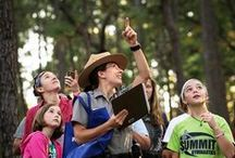 Our Kids Outdoors / Learning and exploring are all-natural activities for kids and their parents to share in NC State Parks. Free interpretive programs every week in every park as well as camps and a chance to become a Junor Ranger