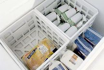 Deep Freezer Organization