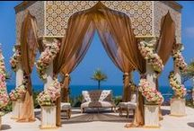 Regal Indian Beach/Destination Wedding / Indian Weddings are becoming more and more prominent in Destination Weddings and I'm loving it! It's what I specialize in and while it can be challenging finding the right vendors abroad for Indian Weddings, the outcome is always stunning!