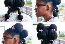 COIFFURE AFRO ENFANTS / Quelques idées coiffures pour nos chérubins
