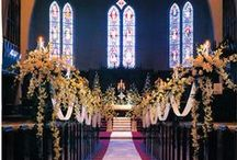 stunning flower decoration for church ceremony / beautiful flower decoration for Church wedding