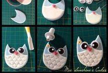 tutorial / creazioni per decorare torte
