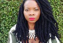 Coiffure Afro Twists // Vanilles