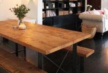 ♒︎ Meubles acier / Meuble en acier pour faire travailler Ben. ⩋ Iron furniture for Ben's work.