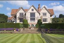 Wimbledon 2013 / In celebration of Wimbledon 2013, Oakwrights take a quick look at a couple of their tennis related projects. From a tennis pavilion to a sprawling manor house...
