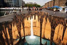 Streetart/Schilderkunst/doors  / Kunst op(de) straat
