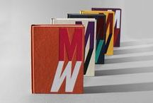 Editorial Design / Layouts / Magazines / Book Bindings / Materials / Book Series / Ideas
