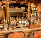 Cams Mill - Bar and Restaurant / A beautiful recreation of the tidal mill that stood here 100 years ago - Cams Mill in Fareham, Hampshire. Oakwrights has helped Fullers Brewery recreate it in the same style – including an array of traditional features to give the Mill an authentic ambience, and make it a special, historic place to indulge in delectable waterside dining.