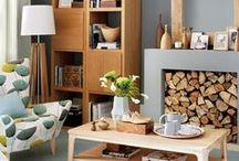 LIVING ROOMS · SALONES / Ideas de decoración para salones de nuestra galería de imágenes  http://uno618.com/decoracion/galeria/