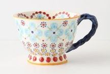 5d: Tea {things I love} / Tea, tea cups
