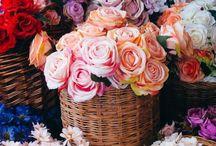 Flowers Arragement/ Bouquets / Arranjos de flores para decor / by Selma Mattua