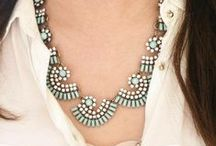 The Stylish Statement / Go glam with our favourite trend, the bold statement necklaces.
