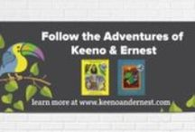 The Adventures of Keeno & Ernest / Information about my children's book series!  Learn more at www.keenoandernest.com