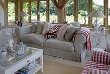 Sitting Comfortably / The Living Room; whether used for entertaining family and friends, relaxing in front of the television or simply where you go for a quiet moment with a good book, here at Oakwrights we have design inspiration for everyone's needs.