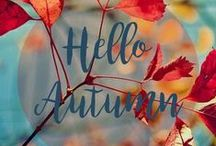 I LOVE Fall!! / Autumn is so awesome; fall colors, harvest, Halloween, Thanksgiving.