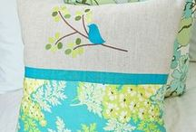 Pillow Art / Creative throw pillows