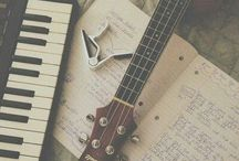 ~make music~ / Singing. Worshiping. Songwriting. Strumming. Playing. Everything as unto The Lord. / by Kelsi Welsi