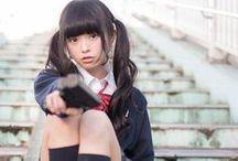 Big in Japan / Japanese girls