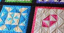 Quilt! I Made That! / Pictures of quilts I've made and longarm quilted. Some link to my blog about their creation.