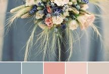 """""""Life in Colour"""" Wedding Inspiration / Perfect colour palates and inspiration to help our brides chose the best scheme for their special day.   #colourpalates #colourinspiration #lifeincolour #weddingcolours #theme #beautiful"""